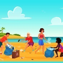 OC Beach Clean Up Activity